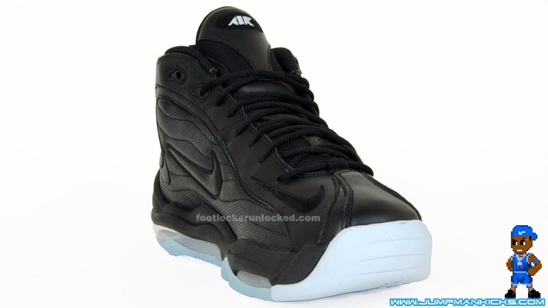 sneakers for cheap c63ee 88b9f 2009 NIKE AIR TOTAL MAX UPTEMPO LE 366724 071 BLACK VOLT Size 8.5