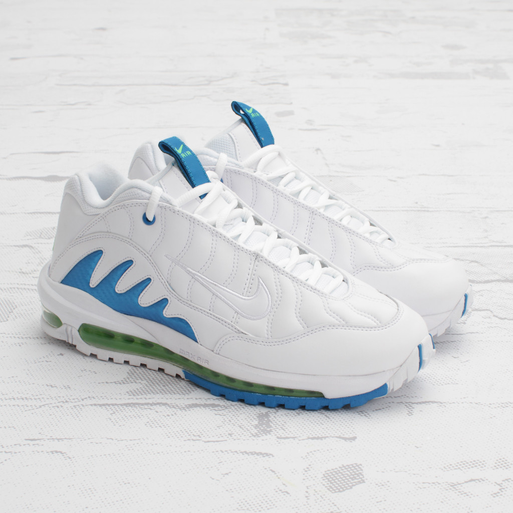 discount sale aa7f9 9aa02 Nike Total Griffey Max 99 – White Neptune Blue-Action Green