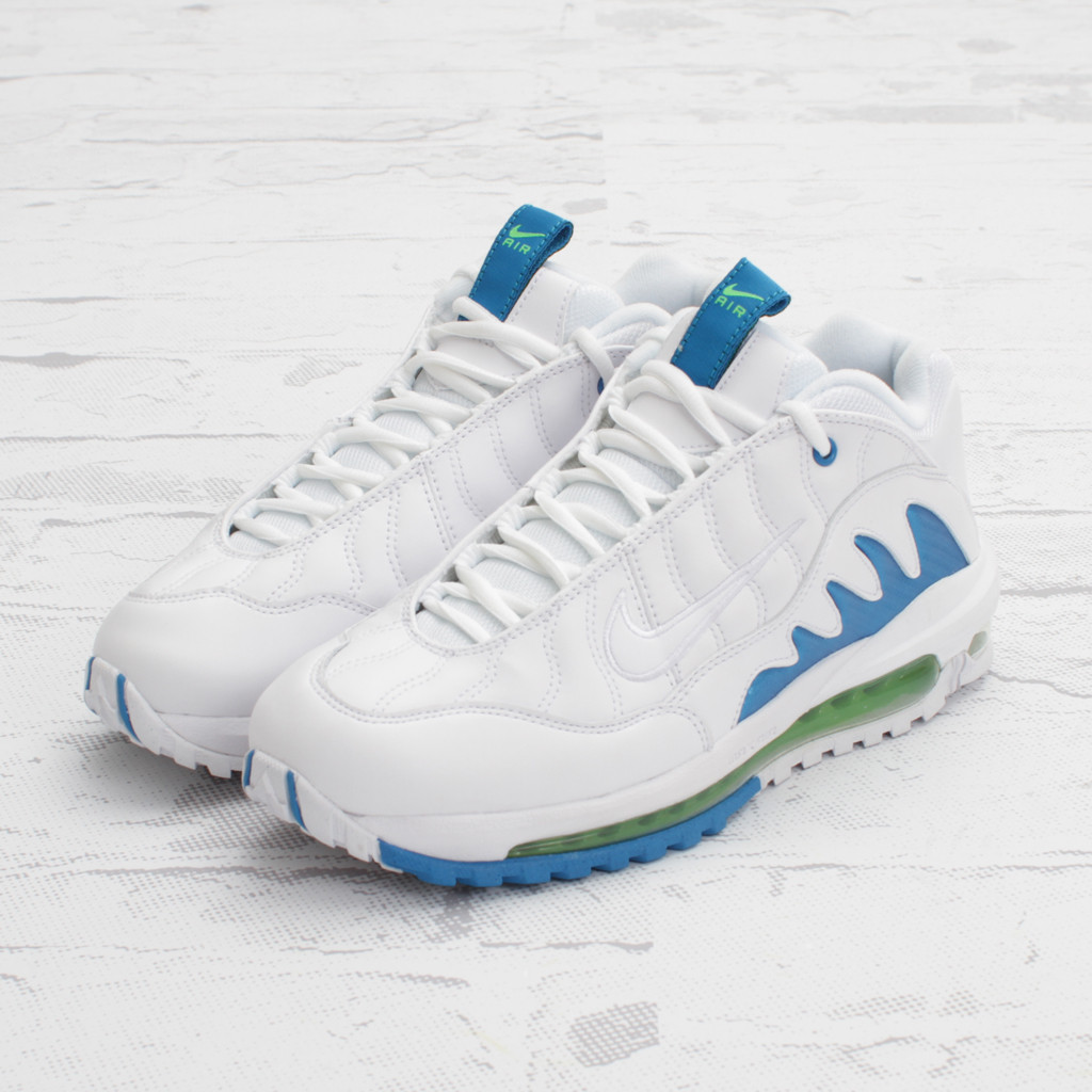 quality design b9070 964c4 Nike Total Griffey Max 99 - WhiteNeptune Blue-Action Green