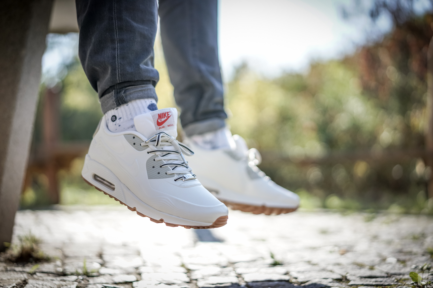 best loved c13ab d09f6 WMNS Nike Air Max 90 VT QS City Pack Tokyo White 813153-100 Womens Size 8.5