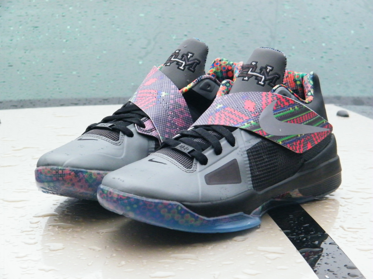 "Nike Zoom KD IV ""Black History Month""Black History Month Kd 4"