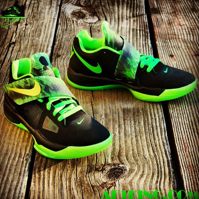 newest b8073 e3edc ... Joker Custom by Gourmet Kickz Nike Zoom KD IV ...