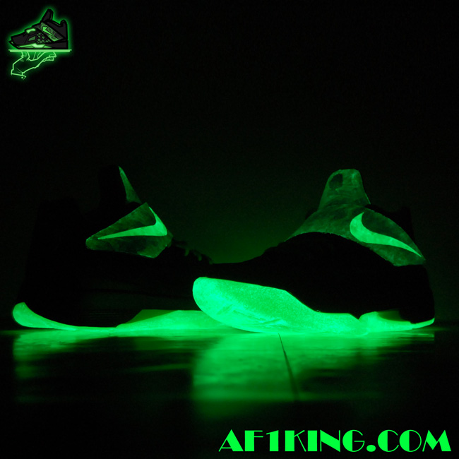 nike zoom kd iv quotparanormanquot customs by gourmetkickz
