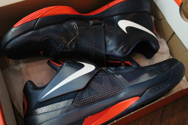 Nike Zoom KD IV - Midnight Navy/Team Orange