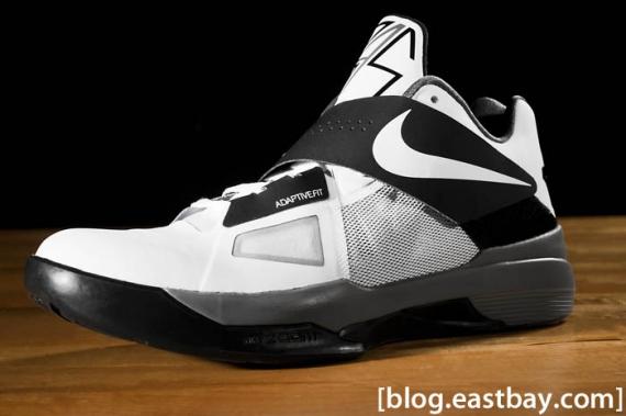e6f83837f975 Nike Zoom KD IV Color  White White-Black-Cool Grey Style  473679-101.  Price   95.00