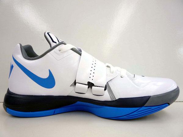 afbd6e6a39d5 Nike Zoom KD IV White Photo Blue-Navy