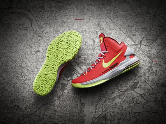 innovative design f7199 51c36 The KD V will initially release online as a NikeiD design, with official  colorways following on December 8. Click here for more pics and info…