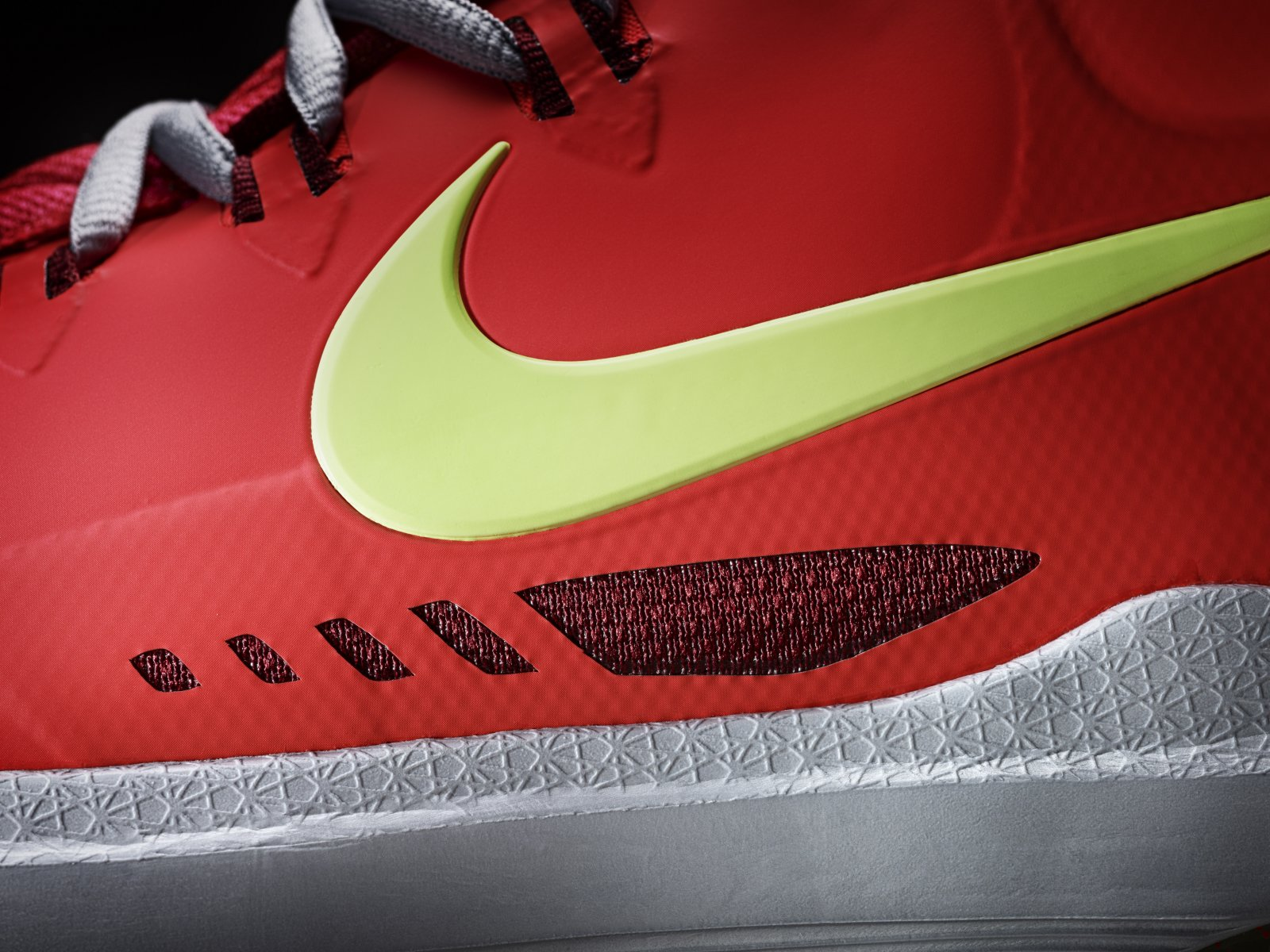 db09acd77c1 Nike KD Trey 5 V Mens 897638-003 Black Rage Green Basketball Shoes Size 12