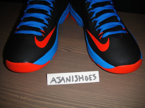 sports shoes e9f02 17c18 Nike Zoom KD V Color  Black Photo Blue-Team Orange Style  555641-002.  Release  12 08 2012. Price