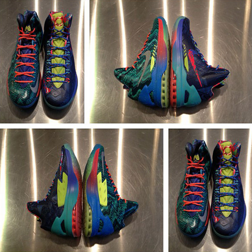 "half off 22c85 43e5a Nike KD 5 (V) ""What the KD"""