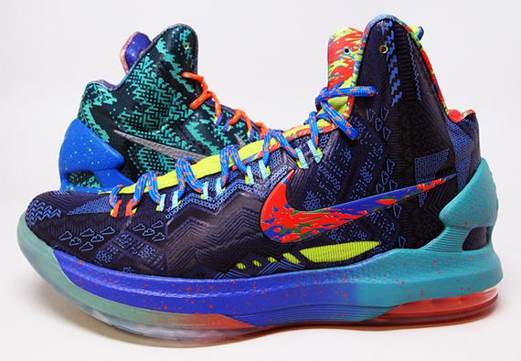 "45719c4d1a4e Nike KD V (5) Premium Color  ""What the KD"" Release  06 14 2013. Price    135.00"