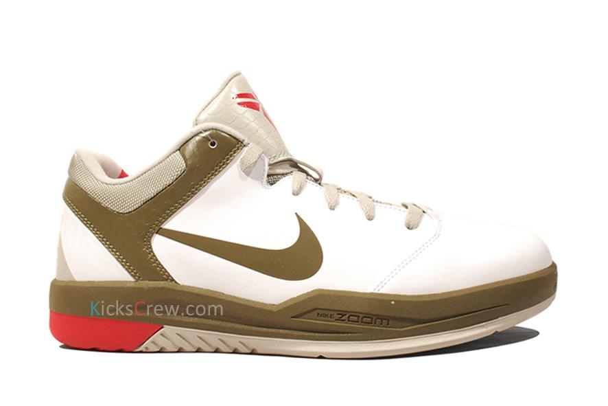 timeless design dea8f 77d12 Nike Zoom Kobe Gametime Color  White Squadron Green-Varsity Crimson Style   540793-102