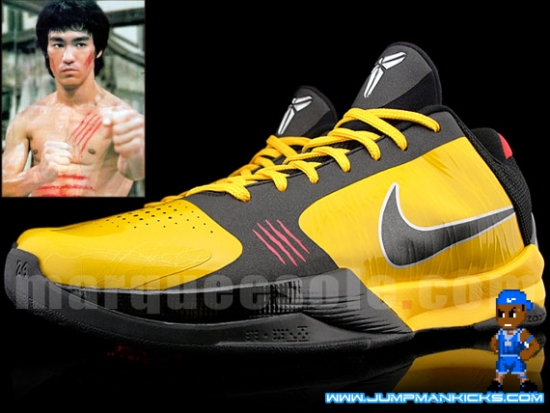 new style d2169 aa570 Nike Zoom Kobe V on Ebay. Bruce Lee Kobe Vs Available Now on Ebay