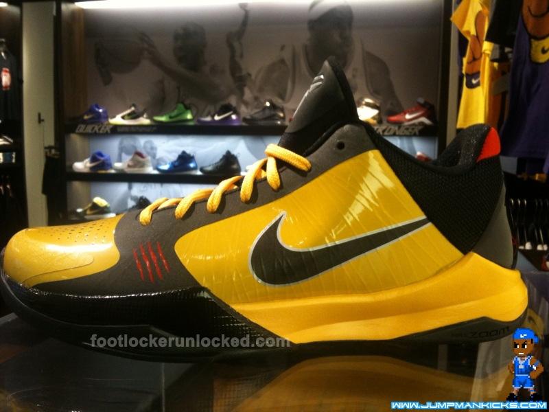 pretty nice f5d21 d42f4 Nike Zoom Kobe V Bruce Lee Available January 16