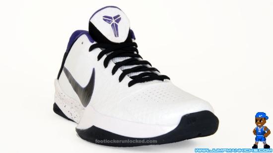 1bed0d80299e Nike Zoom Kobe V White Black Varsity Purple Del Sol - Air 23 - Air ...
