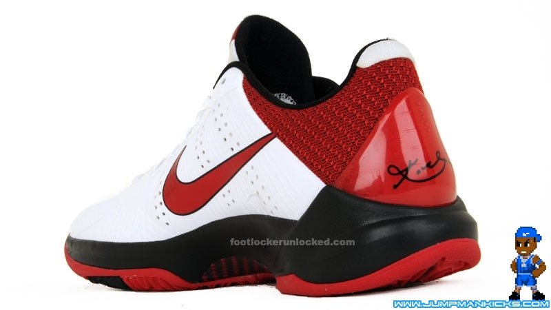 huge selection of 83513 3b042 This pair has a very simple color scheme, but in this case, that s  definitely a good thing. The White Varsity Red-Black Kobe V is scheduled  for release on ...