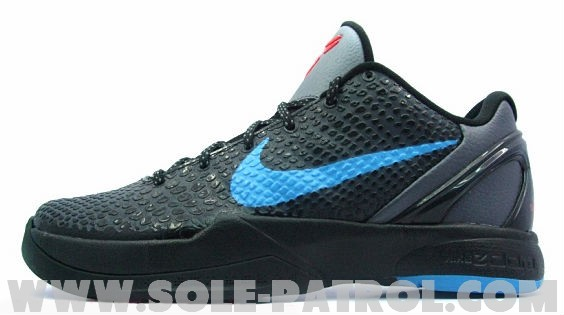 nike zoom kobe vi blackbluechilling red new pics
