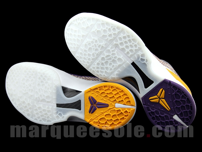 super popular 5ed2a 443a2 Nike Zoom Kobe 6 VI sz 11.5 Imperial Purple Del Sol Yellow Lakers 429659-501