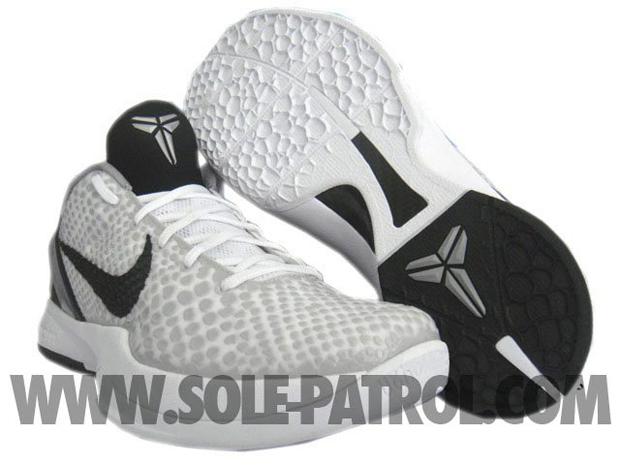 outlet store 5ecaa cc592 Nike Zoom Kobe VI (6) White Grey-Black