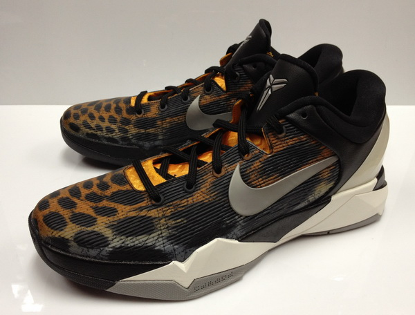 61f4152a582 Nike Zoom Kobe VII Color  Circuit Orange Medium Grey-Black-Sail Style   488371-800. Release  08 25 2012. Price   140.00