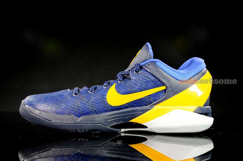 blue and yellow kobe 7 nike .