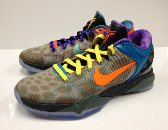 nike zoom kobe vii quotwhat the kobequot new images