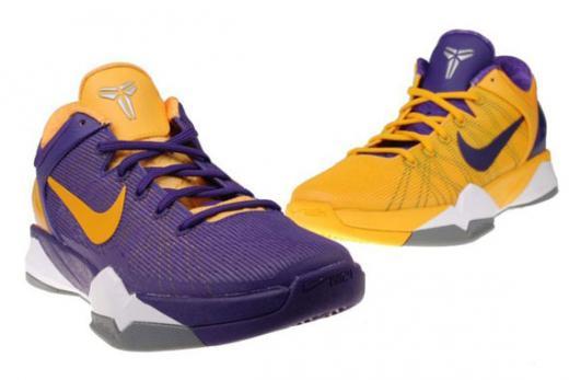 296032b924e ... new arrivals nike zoom kobe vii 7 color pos neg court purple uni gold  black yin