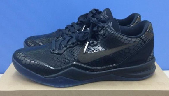 Nike Zoom Kobe 8 VIII Black Blue Purple