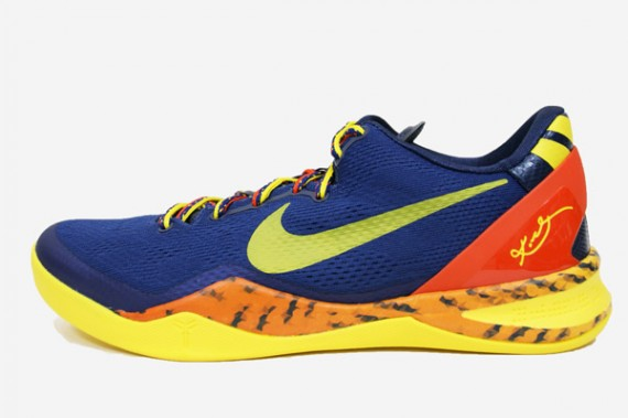 buy popular a4b40 aaef7 Nike Kobe 8 (VIII) System Color  Deep Royal Blue Tour Yellow–Midnight Navy  Style  555035-402