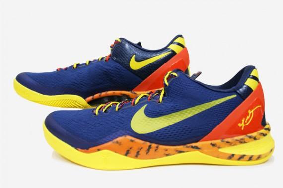 size 40 610f1 e0cea Nike Kobe VIII 8 System Milk Snake Red Camo Boa Size 13 555035-601
