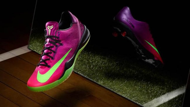 online store 5f7d7 43d67 Nike Kobe 8 VIII System MC Color  Red Plum Electric Green-Pink Flash Style   615315-500. Release  06 07 2013. Price   140.00
