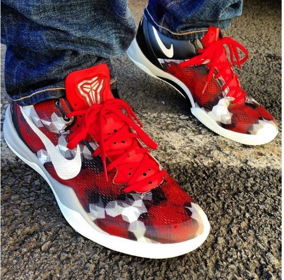 0cf10d4c303c czech nike kobe 8 viii system color university red sail noble red pearl  grey style 555035
