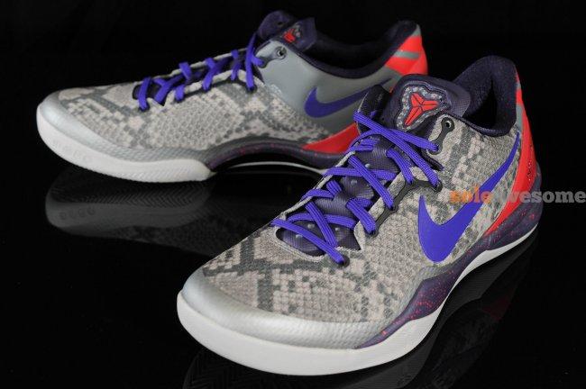 8fe0bc6e2cf2 Nike Kobe VIII (8) System Color  Mine Grey Black-Court Purple-University Red  Style  555035-003. Release Date  11 30 2013. Price   130.00
