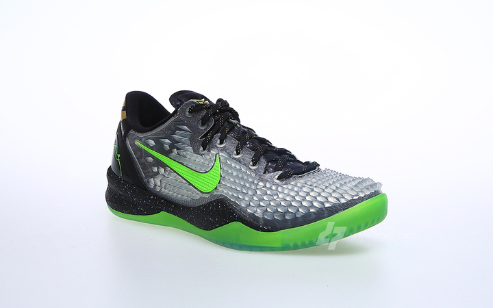 online store 2fa08 920f1 Nike Kobe VIII (8) System SS Color  Black Electric Green-Cool Grey-Metallic  Gold Style  639522-001 12 26 2013. Price   160.00