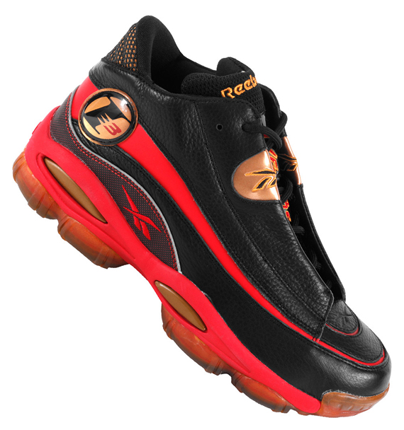 d4948fd9b5bea3 The end result is a beautiful design that s sure to break necks anywhere.  The Black Red-Gold Reebok Answer 1 will release on November 8
