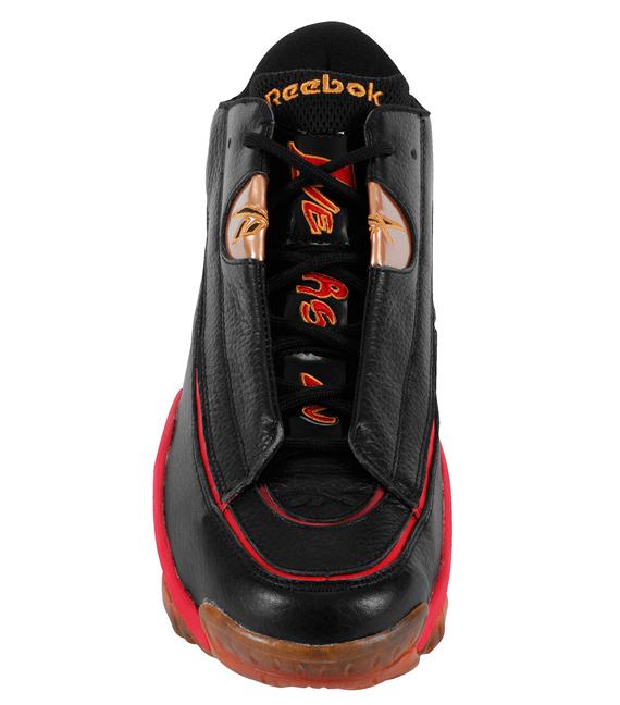 new styles 9cf0f 9c96c Reebok Answer 1 - Black/Red-Gold