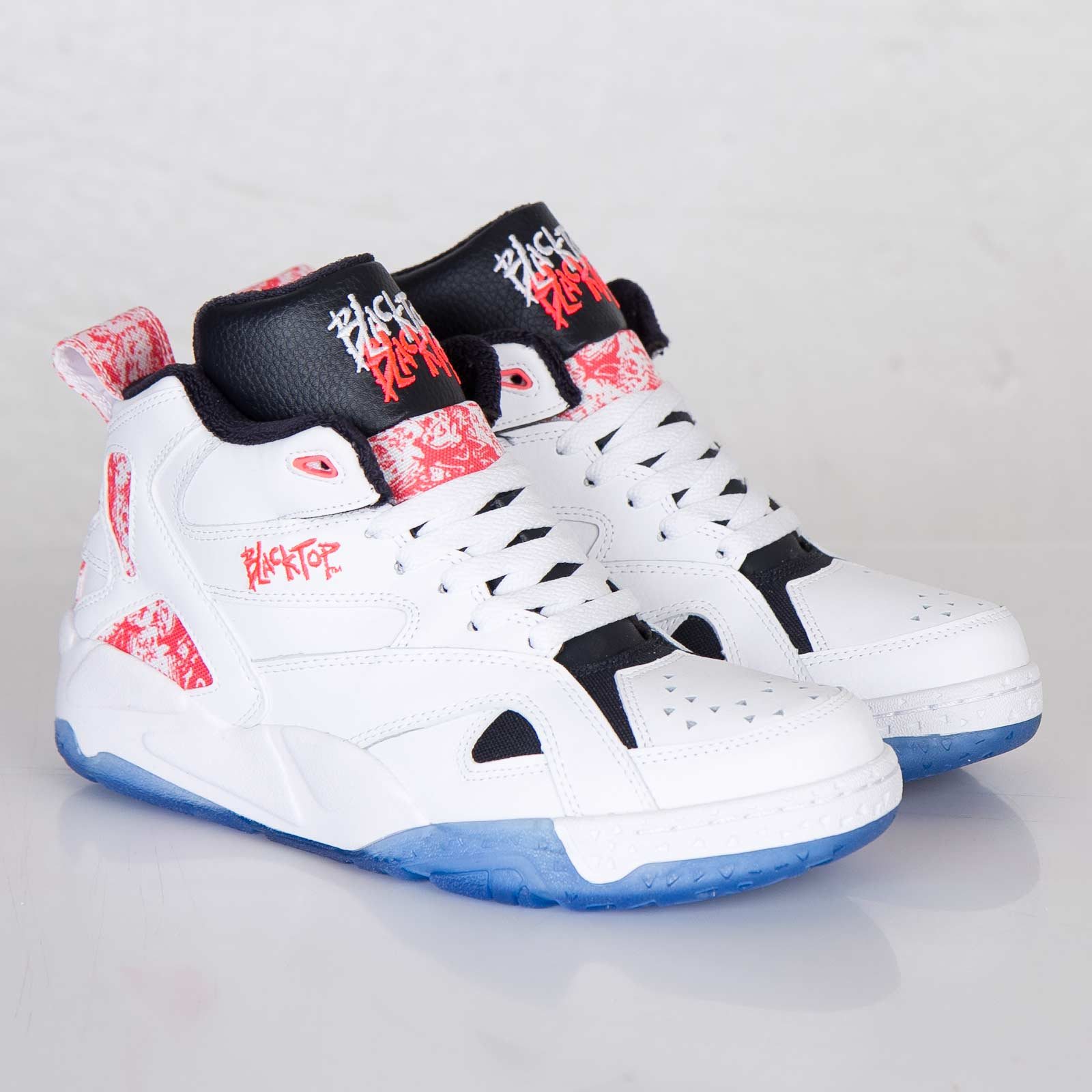 Reebok Blacktop Boulevard Color  White Punch Pink Reebok Navy Style  V56085  Price   115.00 2932a8a9a
