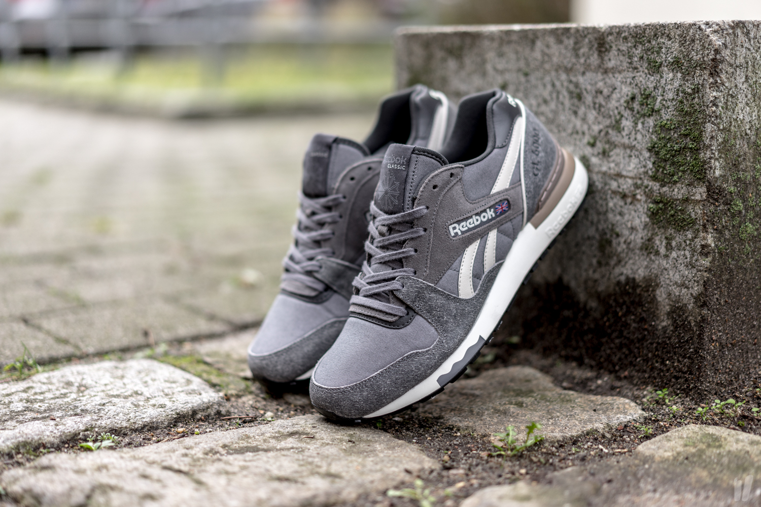 3a2f00cdb9f Reebok GL 6000 ND - Shark   Coal-Sand Stone - Air 23 - Air Jordan ...