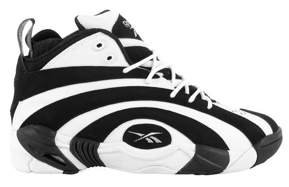 2018 shoes great prices selected material Reebok Shaqnosis - Black/White