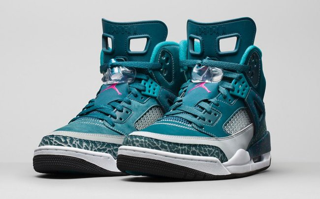 online retailer 20167 b12c0 Jordan Spizike Color  Space Blue Fusion Pink-Wolf Grey-Tropical Teal Style   315371-407. Release  10 15 2014. Price   175.00
