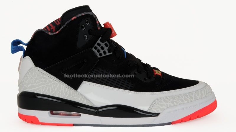 best sneakers 96a34 cea9a Jordan Spizike Color  Cement Black New Blue Infrared Release  05 08 2010