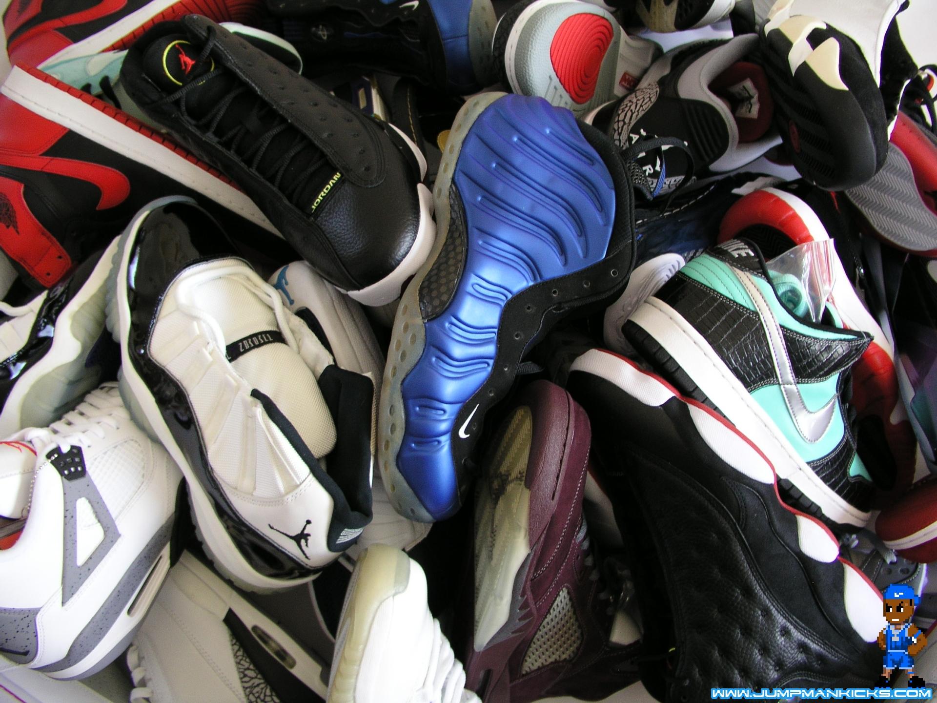 Air 23 Sneaker Wallpaper For Your Desktop